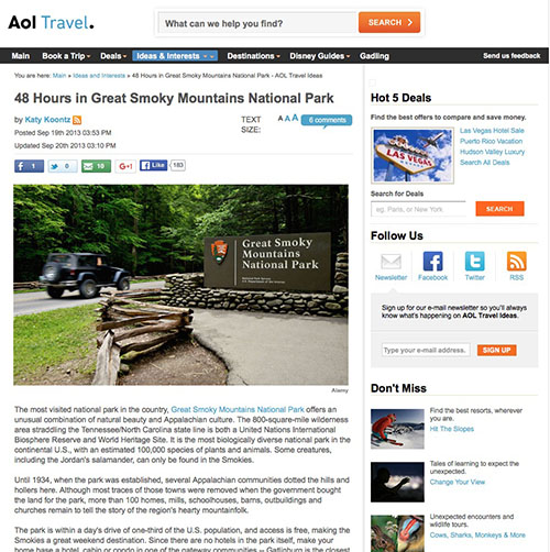 48 Hours in Great Smoky Mountains National Park
