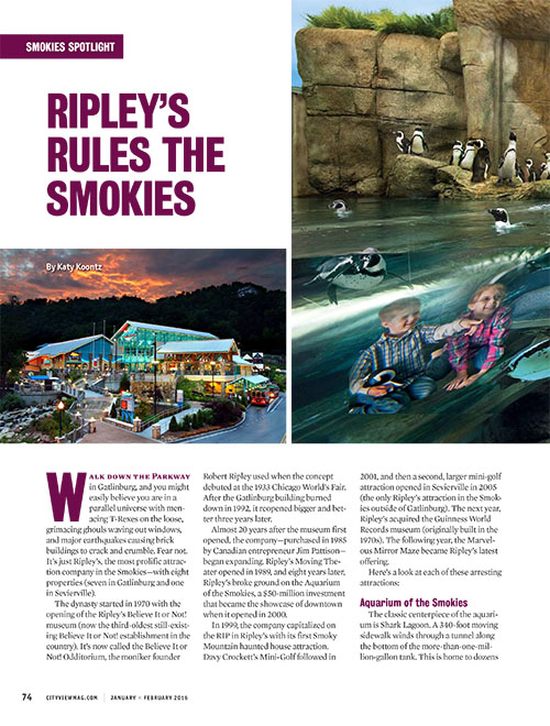 Ripley's Rules the Smokies
