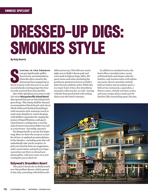 Dressed-Up Digs: Smokies Style